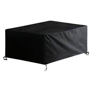 AWNIC Funda de Muebles de Jardín Funda para Mesa Jardín Impermeable Resistente al Desgarro 210D Oxford 210X120X80cm 6