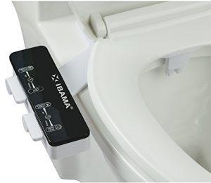 IBAMA Bidés, Boquilla de autolimpieza - Accesorio de WC de bidé mecánico no eléctrico de agua dulce (Negro) 3
