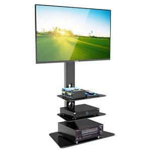 1home Base de Vidrio con Cantilever y Soporte Giratorio para TV de Plasma/LCD de 30-55 Pulgadas 3