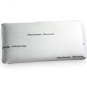 Jarrous Almohada Viscoelástica Modelo Carbono Perforada, Color Blanco, Medida 70cm (Otras Medidas Disponibles) 5
