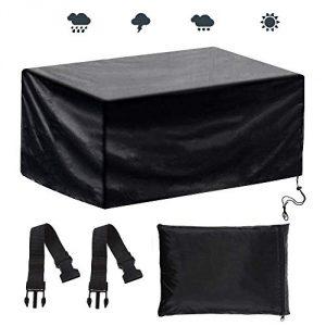 Anpro Cubierta de Protección para Muebles de Jardín contra el Sol de Lluvia de 200 * 160 * 70cm 8