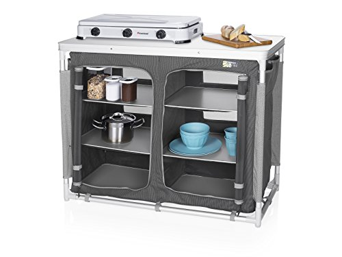 Cocina de camping Madrid Campart Travel KI-0734 – Seis compartimentos – Bolsa de almacenamiento incluida 1
