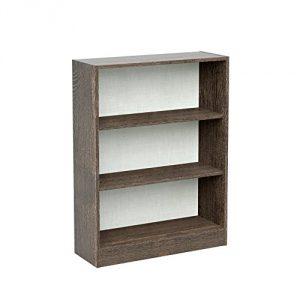 INFINIKIT Haven Pequeño Librero , Roble gris, 76,5x100x50,5 cm 1