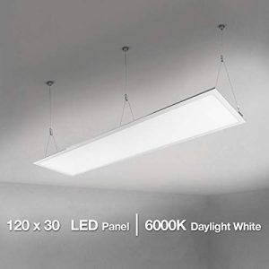 Lighting EVER Panel LED, 36W = 80W Fluorescente, 6000K, Luz de Techo, Oficina, Salón, Despacho, Sala de Reunión, Blanco Frío 6