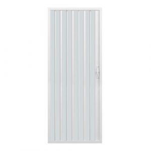 Rollplast BVEN2LONCC28080- puerta de ducha a Fuelle, Diámetro 80 x 185 cm, PVC, un solo lado, hoja única, apertura lateral, blanca 5