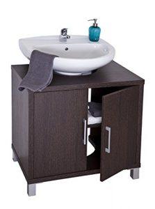 Intradisa Mueble de baño bajo Lavabo 8915, Wengue 6
