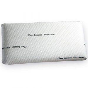 Jarrous Almohada Viscoelástica Modelo Carbono Perforada, Color Blanco, Medida 90cm (Otras Medidas Disponibles) 4