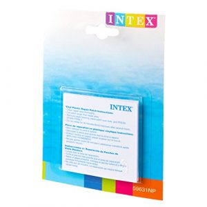 Intex 59631NP - Set de reparación parches autoadhesivos, 7 x 7 cm 7