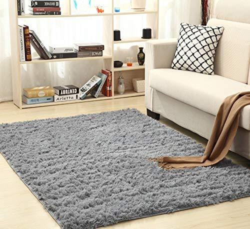 Alfombras Pelo Largo de habitación Salón 120x160 - Alfombra Infantil para Dormitorio 120 x 160 cm 1