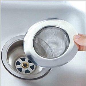 Filtro de acero inoxidable para fregadero, lavabo o ducha 2