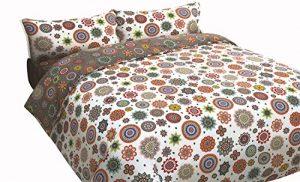 Funda nórdica Reversible Mandalas estampadas TIARA (Para cama de 150x190/200 (Nórdico de 240)) 1