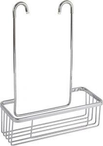 Cesta portagel Para Grifería De Ducha Y Bañera de aluminio inoxidable, sin taladros. 2