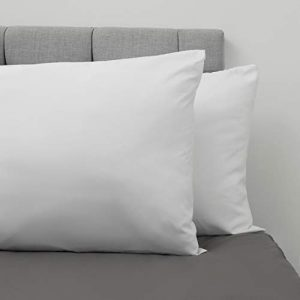 Dreamzie ⭐Set de 2 x Fundas de Almohada 50 x 75 cm, Blanco Alabastro, Microfibra (100% Poliéster) - Fundas de Almohadas - Fundas de Cojin Cama, Funda de Almohada Cojin Calidad Cómoda Hipoalergénica 5