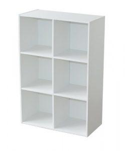 Alsapan 94046 Compo 08 - Estantería con 6 repisas, color blanco, 61,5 x 29,5 x 91,1 cm 2