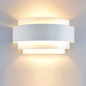 Maxmer Apliques de Pared Bañadores Luz de Pared 40W Iluminación, Blanco Cálido 10