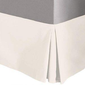 Innovaciones Roser Cubre Canapé Liso Hueso, Medida para Cama de 160 2