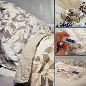 ¡Sistema de prendedores Magnético Pinion (Juego de 8) clips de edredón, cierre para decoraciones, ropa y mucho más! 2