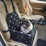Felicidad Asiento del Coche de Seguridad para Mascotas Perro Gato Plegable Lavable Viaje Bolsas - se Adapta a pequeños Perros hasta 20 Libras(9KG) 12