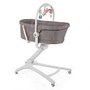 Chicco Baby Hug 4en1 - Sistema multifunción: moisés, hamaca, trona y silla, regulable en altura, color marrón (Legend) 4