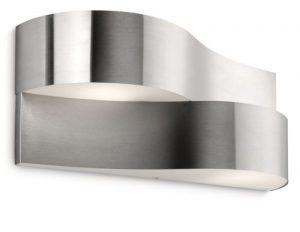 Philips myGarden Oriole - Aplique de exterior, incluye 2 bombillas, casquillo fino E14, iluminación exterior 1