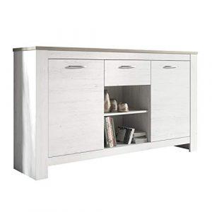 DISTRIGAL SL HomeSouth - Buffet Mueble Comedor, aparador de Cocina salón u Oficina, Modelo Frida, Medidas: 159 cm (Ancho) x 90 cm (Alto) x 40 cm (Fondo) 7