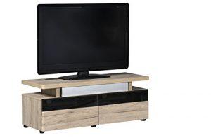 """Marca Amazon -Movian Spey - Mueble para TV de hasta 55"""", 120 x 42 x 45cm, efecto de roble San Remo 6"""