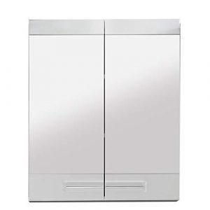 trendteam Muebles, Madera, Blanco Brillante, 60 x 71 x 15 cm 9