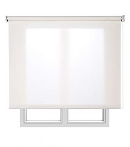 Estores Basic, Stores screen, Blanco, 120x180cm, estores para ventana, persianas enrollables para el interior. 6