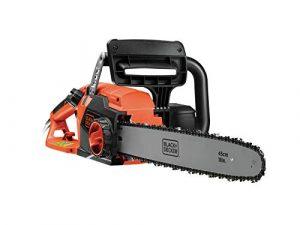 BLACK+DECKER CS2245-QS - Motosierra eléctrica 2200W, espada 45 cm, velocidad 12.5 m/s 1
