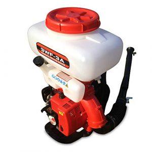 SENDERPICK - Pulverizador de Gasolina para jardín, 20 l, jeringa para Fertilizante, jeringa para la Espalda, pulverizador de Sal, jeringa de Alta presión de 2 Tiempos, Boquilla para la Espalda 8