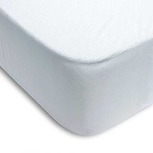 ENERGY COLORS textil-hogar Protector COLCHÓN Impermeable Rizo ALGODÓN 100% PVC (105_x_200_cm) 7