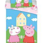Jerry Fabrics 8500 Peppa Pig - Juego de Funda nórdica y Funda de Almohada (100 x 135 cm y 40 x 60 cm) 14