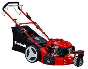 Einhell GC-PM 51 S HW-T - Cortacésped de gasolina (2800 W, altura de corte 8 niveles | 30-80mm , ancho de corte 51 cm, hasta 1800m² de jardín, 70L de capacidad de bolsa) (ref.3404390) 3