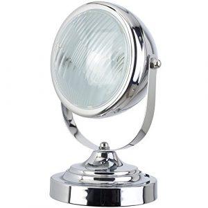 Neoly Lámpara de Mesa ILA3951150, Metal, Gris, 20 x 17 9