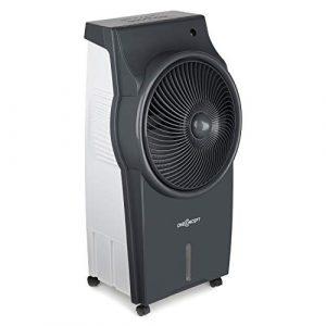 Oneconcept Kingcool Grey Edition - Climatizador , Ventilador , Enfriador , Ionizador , Filtro de Limpieza del Aire , Oscilación , Potencia 95W , Tanque 8L , Mando Distancia , Gris Plomo 1