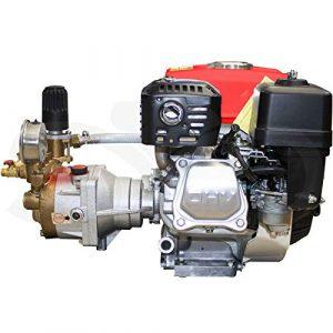 Motor bomba de sulfatar pistón cerámico 40bar 25ltr. Compacto y potente 8