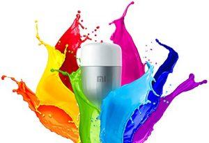 Xiaomi Bombilla de color Mi LED, WiFi (no requiere HUB), compatible con Google Home, Alexa y Apple HomeKit, E27, 10 W, 800 lm 3