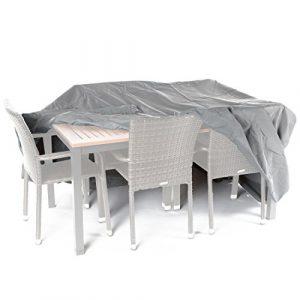 Ultranatura Sylt - Funda Protectora de Tejido, para Conjuntos de Mesa y sillas, Longitud 230 cm 10