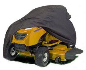 HBCOLLECTION Funda protectora para tractor cortacesped impermeable y resistante tamaño L 3