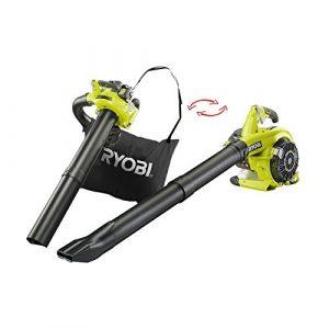 Ryobi RBV26B RBV26B-Aspirador, soplador, triturador de 26 CC, Negro, Verde 4