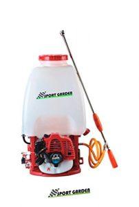Sulfatadora de Mochila con Motor Gasolina 2 Lanzas 9