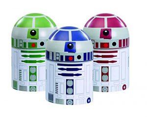 Underground Toys - Star Wars: Conjunto De Almacenaje De Cocina Droids 3