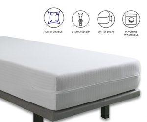 Tural - Funda de colchón de Cuna Extra elástica y Resistente. Cierre con Cremallera. Talla 60x120cm 9