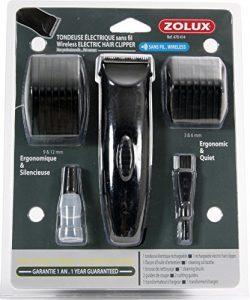 ZOLUX Kit cortacésped eléctrico inalámbrico con batería para Perro 1