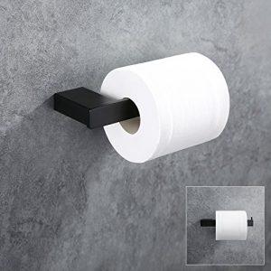 Homelody Portarrollo papel higiénico con rodillo de acero inoxidable Soporte de papel cepillado Para Papel Higiénico Bandeja De Papel Higiénico baño SS 304 Acero Inoxidable 4