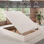 Canapé abatible Wood de Home Medida 120x190 cm Color Blanco 16