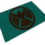 SD toys Star Wars Felpudo Logo Shield, Fibra De Coco, Verde, Decoración del hogar 13