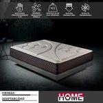 Komfortland by Home Colchón 135x190 viscoelástico Memory Vex Foam de Altura 25cm, 5cm de ViscoProgression Grafeno 19