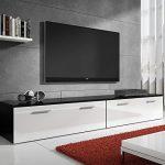 muebles bonitos -Mueble TV Modelo Arona en Color Blanco 2m 14