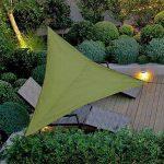 Impermeable A Prueba de Sol Triángulo Toldo Sombra Vela Aire Libre Sombrilla Sombrilla Jardín Patio Piscina Camping Picnic 18